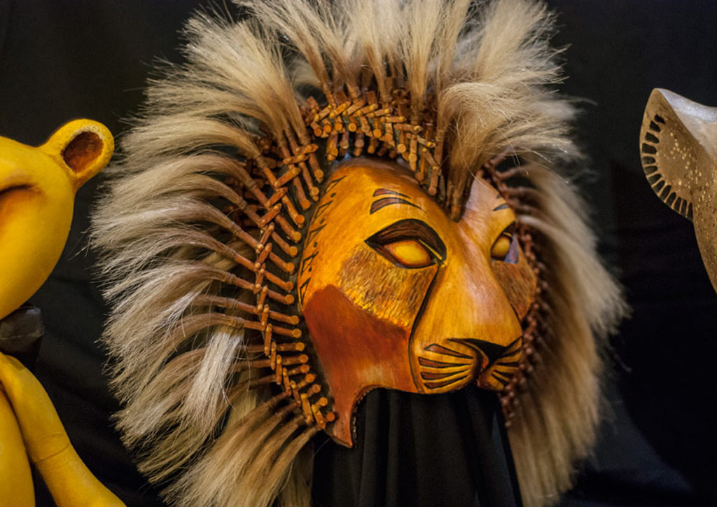 Simba mask | Photo by Lawrence Carlos