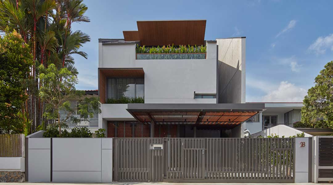 bluprint architecture RT+Q Architects terrace house