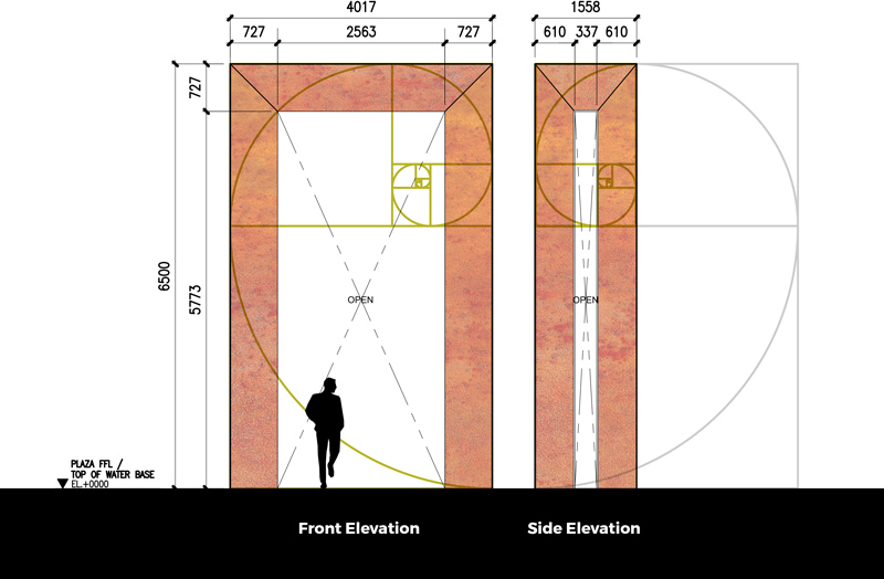McMicking Memorial elevations