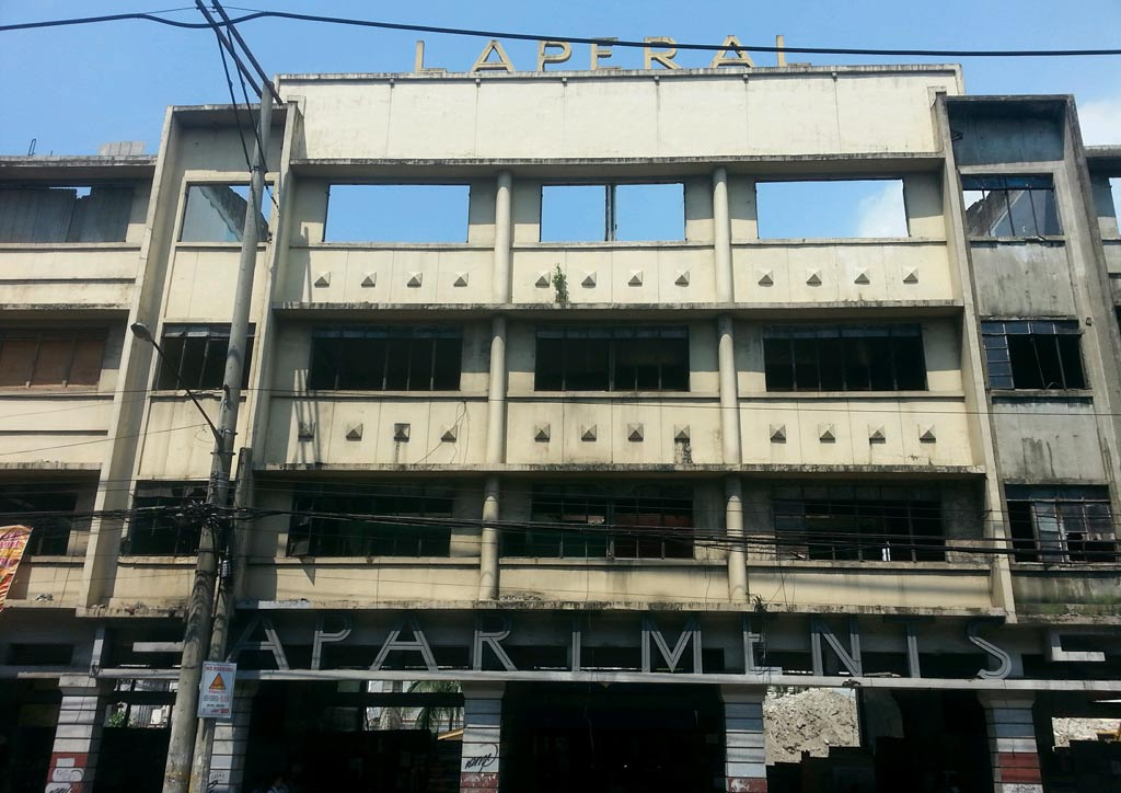 The Laperal Apartments before the renovation | Photo courtesy of the owners
