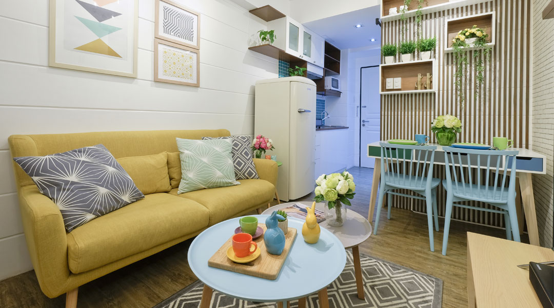 At 25 Sqm This Med Student S Modern Country Condo Is Spacious And Stylish