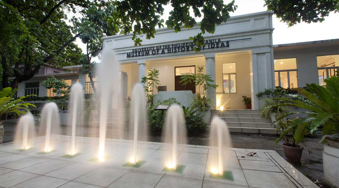Up Manila Museum Of A History Of Ideas Houses The Intangible Bluprint